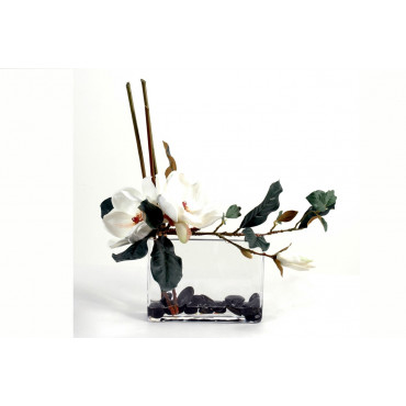 Bouquet de Magnolias Artificiel