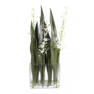 Bouquet D'Orchidée Vanda Artificielle