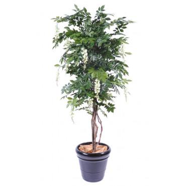 Glycines Arbuste Crème/Vert Artificiel