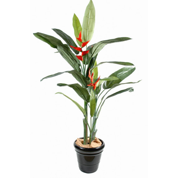 Heliconia Rouge Artificiel