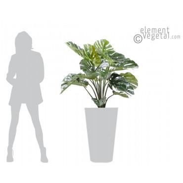 Philodendron Géant Artificiel - Ht 110 cm
