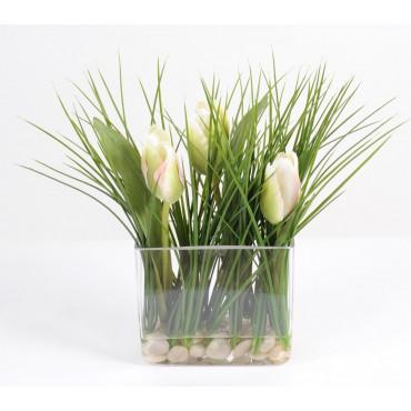 Bouquet de Tulipe Blanc