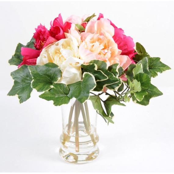 Bouquet de Pivoine Rose