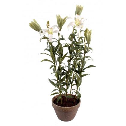 Lilium Artificiel en Pot
