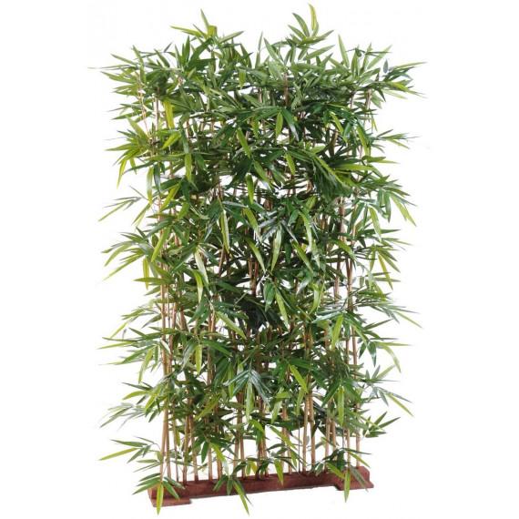 Haie de Bambou Semi-Naturelle - RÉSISTANT AUX UVS